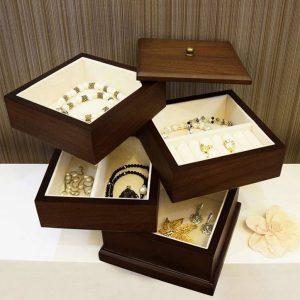 جعبه جواهرات طبقه ای
