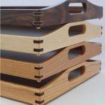 سینی های چوبی